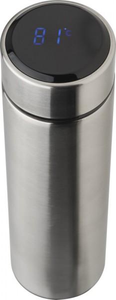 427380 Edelstahl-Thermosflasche mit LED-Anzeige, Inhalt ca. 450 ml