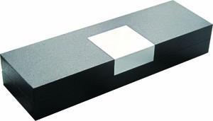 Klapp-Etui Metall-Dekorplatte   Magnetverschluss