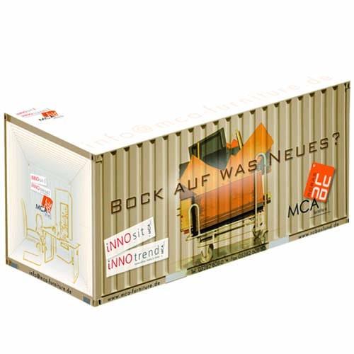 Containernotizwürfel 15 x 8 x 8 cm