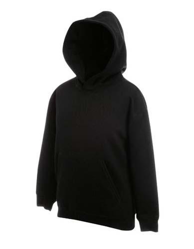 Kids Classic Hooded Sweat_Black