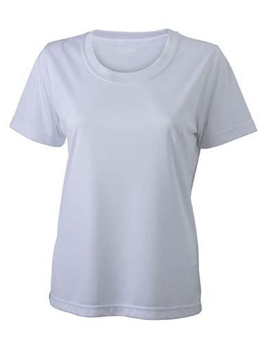 N357 Ladies` Active-T_White