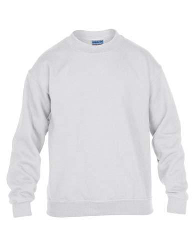 Heavy Blend™ Youth Crewneck Sweatshirt_White