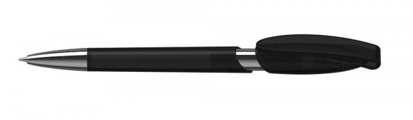 Kugelschreiber Rodeo Mn schwarz transparent