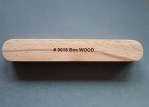 Box Wood | Klapp-Etui für 1 Schreibgerät | Maße 175 x 29 x 23