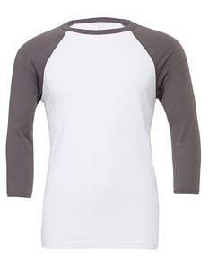 L-CV3200 Unisex 3 / 4 Sleeve Baseball T-Shirt