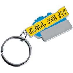 Mac-93505 Schlüsselanhänger Call me!!!_blau