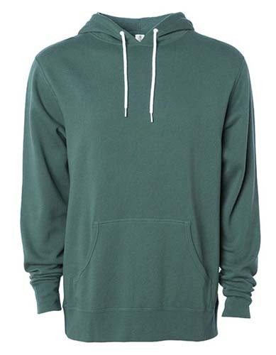 Unisex Lightweight Hooded Pullover_Alpine-Green