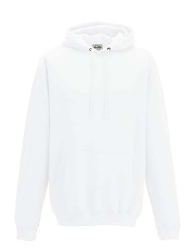 JH001 College Hoodie_Arctic-White