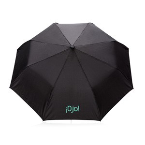 """Deluxe 21"""" faltbarer Schirm"""