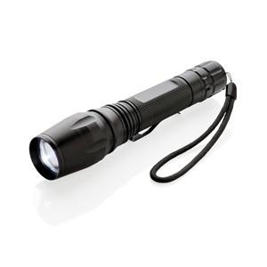 10W Cree Taschenlampe schwarz