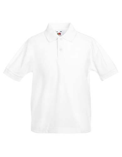 Kids 65/35 Polo_White