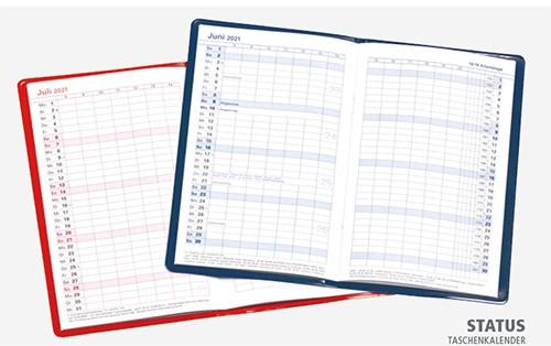 Status Taschenkalender