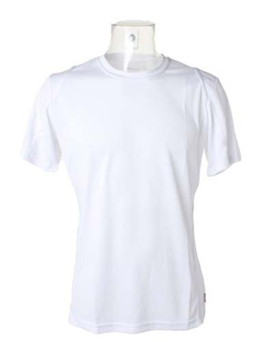 Men`s Regular Fit T-Shirt Short Sleeve_White_White