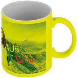 Mac-80172 Kaffeetasse in Neonfarben_gelb