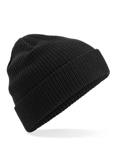 Organic Cotton Beanie_Black