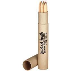 Mac-56091 7 lange Holz-Buntstifte