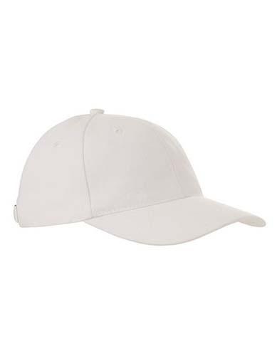 Heavy Brushed Cap_White