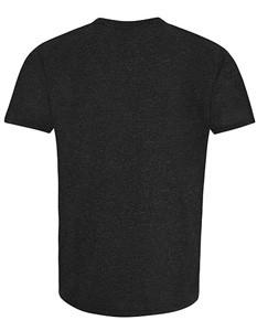 Sport T-Shirt Rundhals Kurzarm Black-Urban-Marl