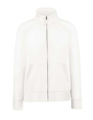 F442N Ladies Premium Sweat Jacket_White