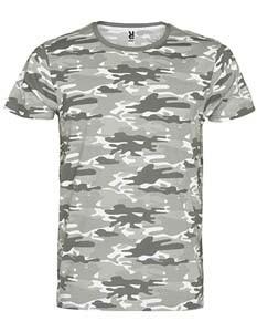 RY1033 T-Shirt Rundhals Kurzarm Camouflage