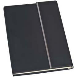 Mac-20087 Notizbuch mit Metallstreifen