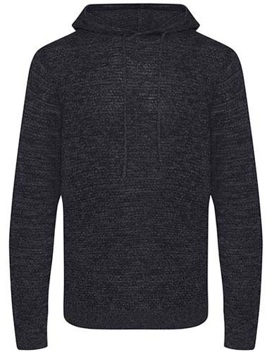 Iguazu Regen Knitted Hoody_Charcoal_Black