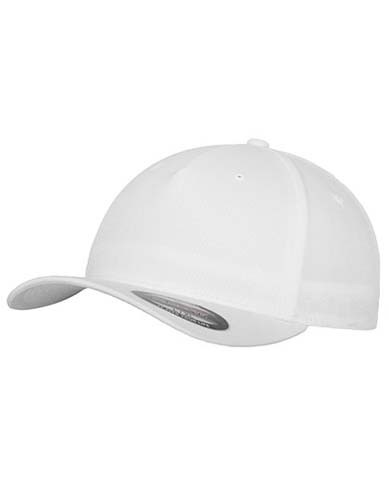 Flexfit 5 Panel Cap_White