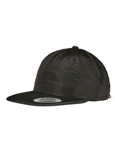 Verstellbare Nylonkappe Sandwich-Caps Black