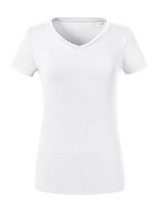 Pure Organic Langarm-T-Shirt White