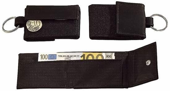 "338-65 Blackmaxx® Minibörse ""MoneyOrganizer"", schwarz"