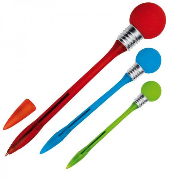 Kugelschreiber mit Flimmerkugel_demo