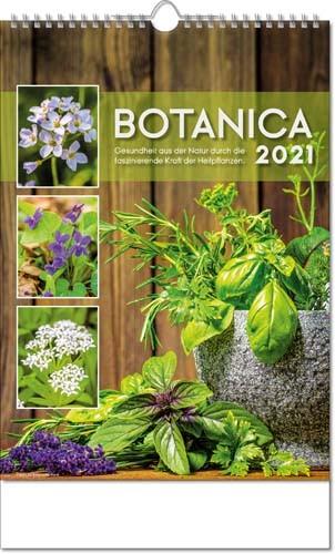 Bildkalender deutsch BOTANICA mit Wire-O Drahtbindung